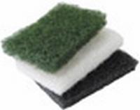 Woca Pad klein 9x15cm groen = middel  per stuk
