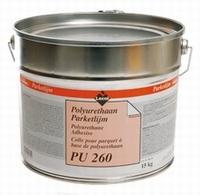 LECOL PU 260 polyurethaan parketlijm 1 componenten 15  kg