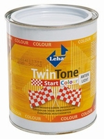 LECOL Twin Tone Start colour wit  0,75  liter