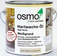Osmo Hartwachsolie wit 0,75  liter