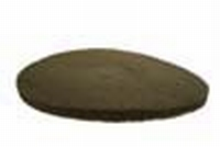 PBH Polijst- en boenpad 400 mm  2cm dik Beige  per  stuk