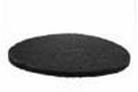 PBH Polijst -en boenpad 400 mm  2cm dik Zwart per  stuk