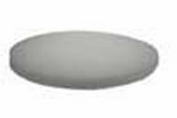 PBH Polijst -en boenpad 400 mm 0,8 cm dik Wit  per  stuk