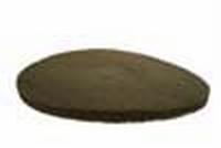 PBH Polijst -en boenpad 325 mm 2 cm Beige per  stuk