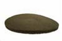 PBH Polijst -en boenpad 279mm 2,3 cm  Bruin per  stuk