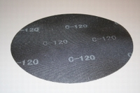 PBH gaasslijpnet korrel 120 diameter 407 mm  stuk