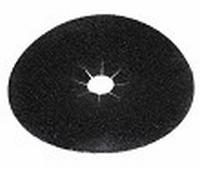 PBH schuurschijf korrel   36 diameter 178 mm zwart  stuk