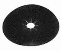 PBH schuurschijf korrel   40 diameter 178 mm zwart  stuk