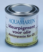Aquamarijn Kleurpigment voor olie North Sea 21  125  ml